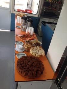 Café da manhã estudantes